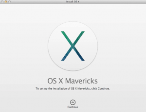 Creating a OS X 10.9 Mavericks USB Installer
